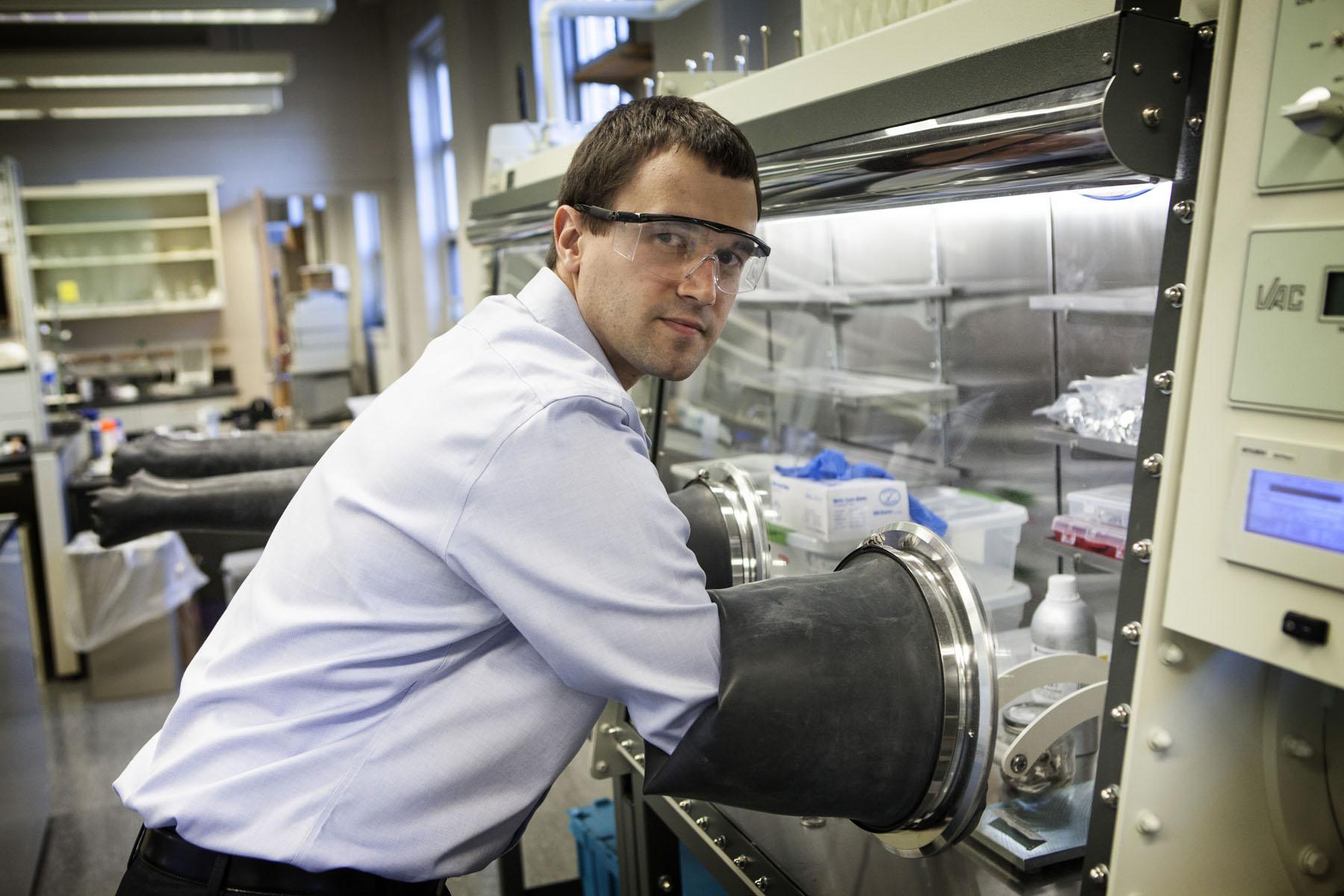 Chemical Engineer Koenig Is Working Toward Better